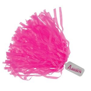 220-Streamer Wide Cut Solid Paddle Handle Pom Poms
