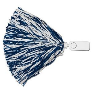 500 Strand Vinyl Pom Poms w/ Rectangle/ Token Handle (Unimprinted)